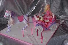 barbie  for Despina (*liis*) Tags: pink cake girly barbie birthdaycake barbiecake wwwtourtescom