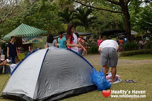 ecopark tent