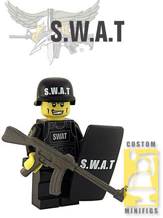 Custom minifig SWAT custom minifig