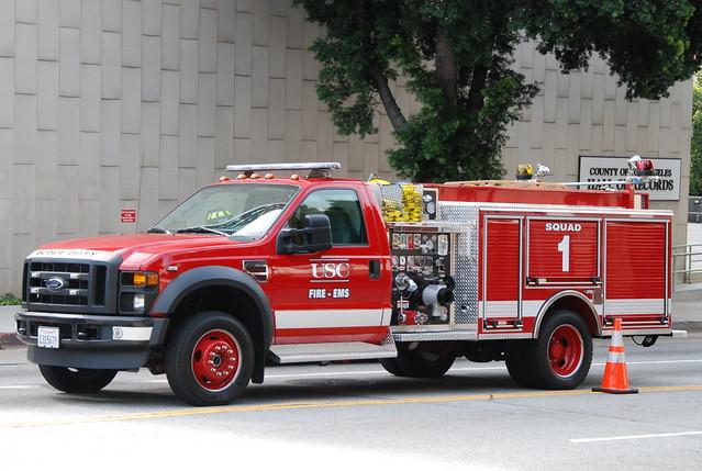 california ford truck university allen glenn utility southern funeral usc firefighter