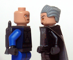Creepy-Eyed Stare-Off 2 (Oky - Space Ranger) Tags: eye star lego harry potter battle off creepy pack stare match wars madam quidditch clone hooch mandalorian