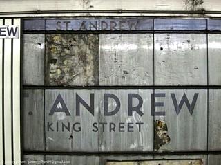 Original subway tiling revealed