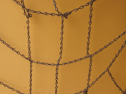 Yellow Wall with Chains