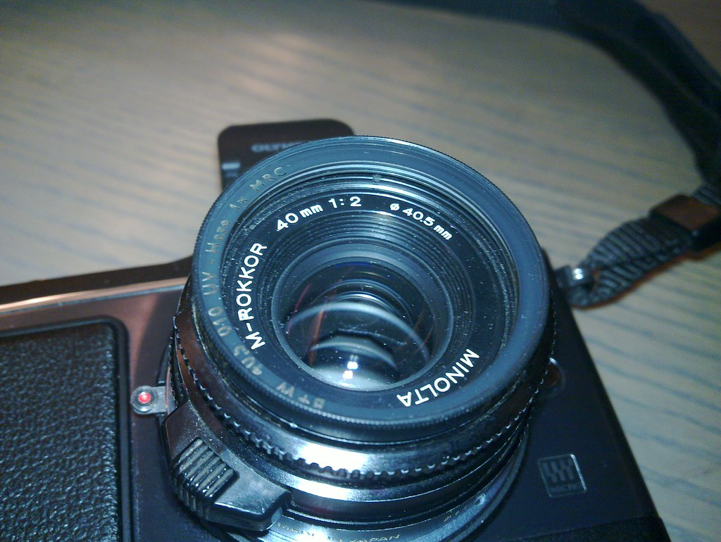 Minolta M-Rokkor 40mm f/2.0