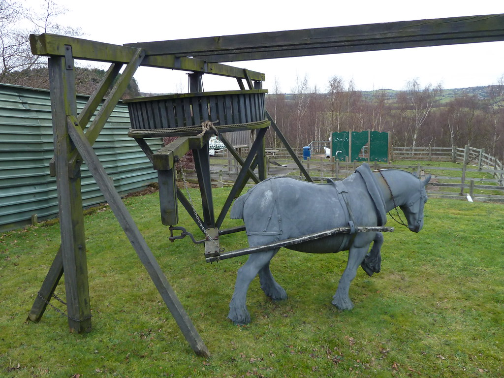 Horse Gin National Coal Mining Museum Wakefield Yorkshire