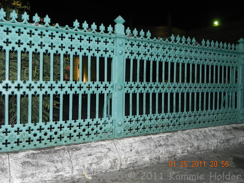Andrew Handyside railings around Barbados Parliment Buildings.