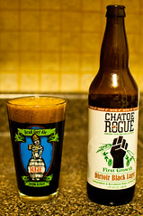 Rogue - Ditoir Black Lager (break.things) Tags: beer oregon rogue gyo chatoerogue dirtoirblacklager