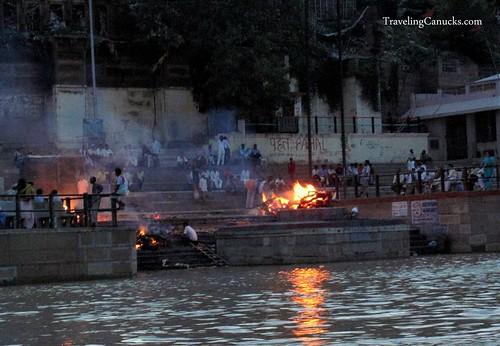 Burning Ghats on the Ganges, Varanasi