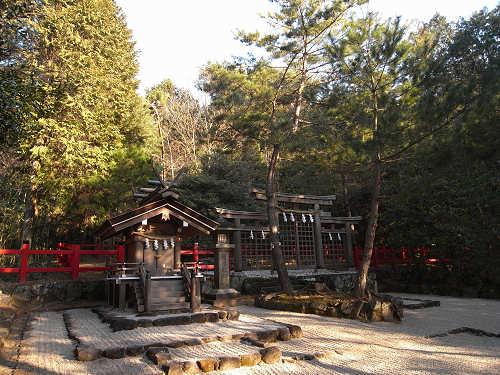 三ツ鳥居のある元伊勢『檜原神社』@大神神社(桜井市)