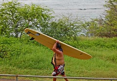 Ya take it Down, Ya lug it back Up! (jcc55883) Tags: ocean hawaii nikon oahu surfing pacificocean diamondhead surfboards kaalawaibeach nikond40 diamondheadroad kuileicliffs