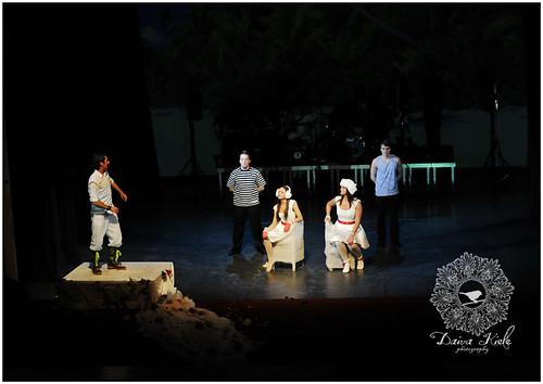 """""""Arklio Dominyko meilė""""-88 abiturientų laidos spektaklis"""