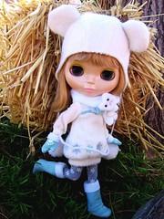 Ginny loves haystacks.