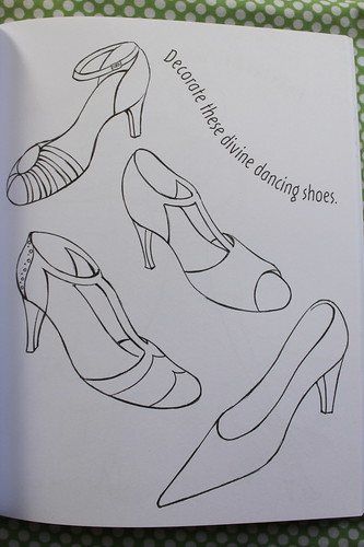Dancing doodles shoe page