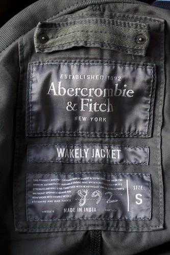 Abercrombie Label