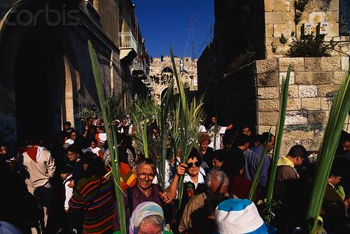 Domingo de Ramos en Jerusalen