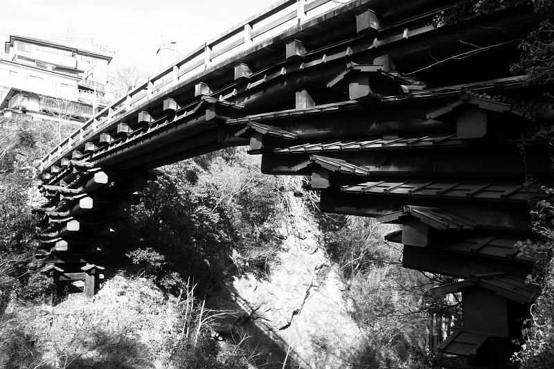 日本三奇橋 - 猿橋