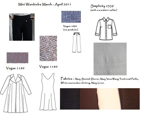 Mini Wardrobe March April 2011