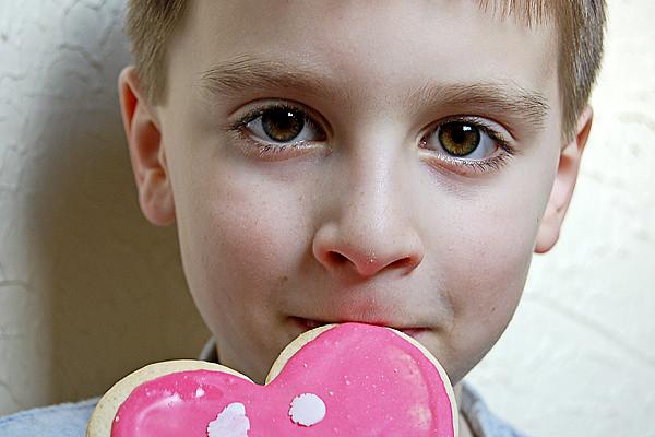 Nick Valentine's Day cookie