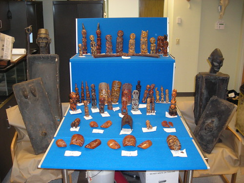 Photo of the Week - Seized ivory artifacts