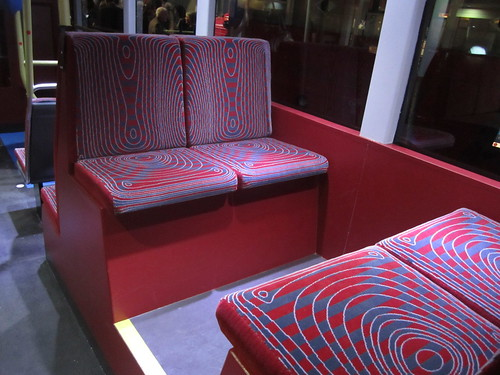 Moquette on New London Bus