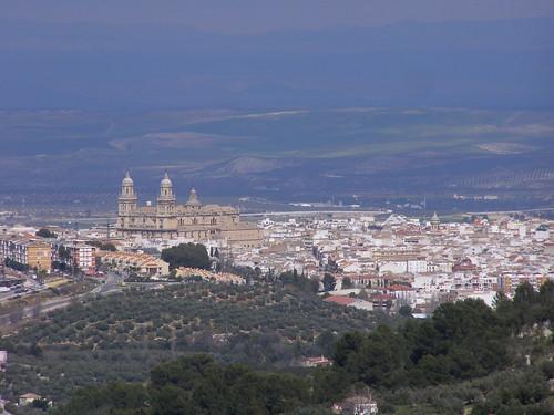 Jaén desde el Mirador de Jabalcuz