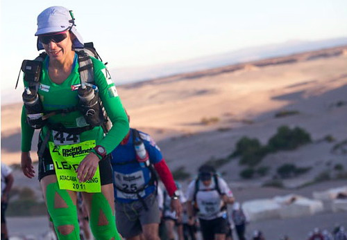 Nahila Hernandez lidel del Atacama Crossing