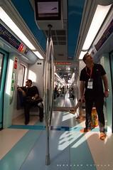 Where are we going? (puthoOr photOgraphy) Tags: nikon lightroom adobelightroom nikond90 dubaimetro puthoor urbantransportlightrail