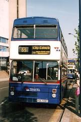 POG 558Y - 2558 (POG 557Y) Tags: city travel west bus rock birmingham metro centre double mk2 55 midlands metrobus decker mcw weymann cammell pog allum 2558 mk2a pog558y 558y