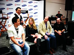 A panel at the blogger lounge with some great folks #samsungsxsw