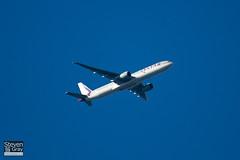 A7-BAO - 36011 - Qatar Airways - Boeing 777-3DZER - Brands Hatch - 101010 - Steven Gray - IMG_2682