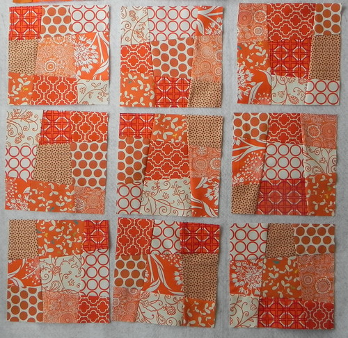 A Blockwork Orange Bee- Blocks 10-18