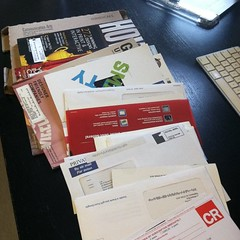 Sorting my mail is a full time job