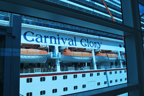 The Side of the Carnival Glory