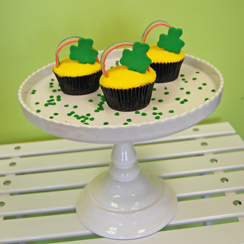 Pot of gold St Patrick's Day Cupcakes