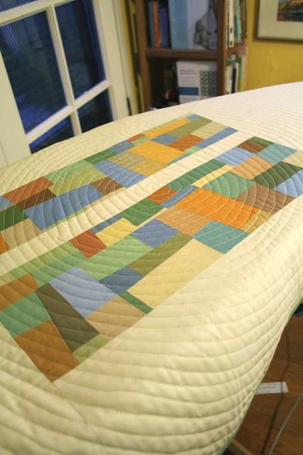 Kona Cottons Challenge Quilt Detail