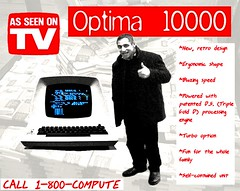 Winner, winner, chicken dinner: move over Macintosh! (Optima 10000)