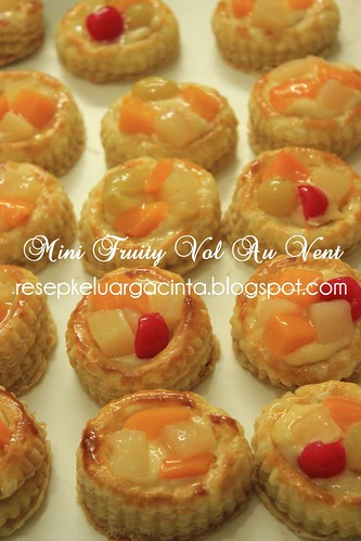 Mini Fruity Vol Au Vent