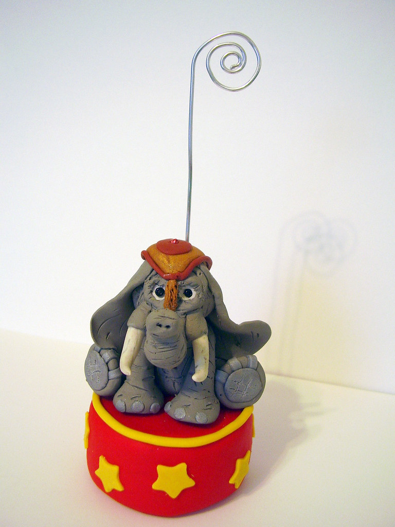Circus Elephant Card/Photo Holder