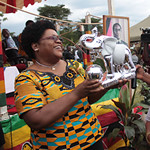 Republic of Zimbabwe Vice-President Joice Mujuru addressed the International Women's Day rally for 2011. Mujuru is a veteran of the national liberation war fought during the 1960s and 1970s against British settler-colonialists supported by imperialism. by Pan-African News Wire File Photos