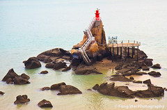 Lighthouse @ Gulang Islet (Feng Wei Photography) Tags: ocean china travel red sea wallpaper urban lighthouse color beauty landscape scenery colorful asia scenic xiamen gulangyu  fujian    amoy    gulangislet drumwaveislet gettyimageschinaq3 gettychinaq2