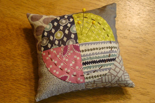 Hope Valley Circles pincushion