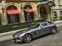Mercedes-Benz SLS AMG (A.G. Photographe) Tags: plaza paris france mercedes benz nikon mercedesbenz ag nikkor franais hdr parisian sls amg anto photographe xiii parisien 2470mm28 athne d700 plazaathne antoxiii hdr7raw agphotographe