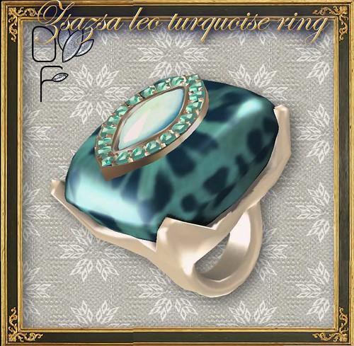 ZSAZSA-leo-turquoise-ring