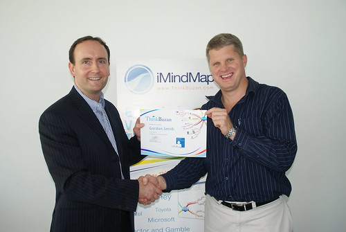 ThinkBuzan CEO Chris Griffiths & Gordon Smith