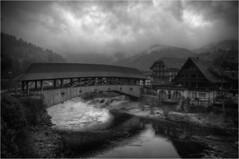 Forbach im Schwarzwald (Frank Dpunkt) Tags: © monochrome frank blackwhite schwarzweiss schwarzwald dpunkt nikond700 nikkor2485284 frankdpunkt