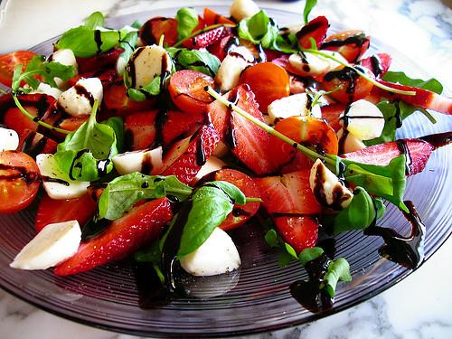 Salad Recipe: Tomato and Strawberry Salad | RedGage