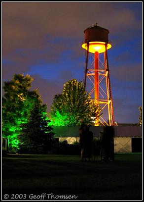 Water Tower at McMenamins