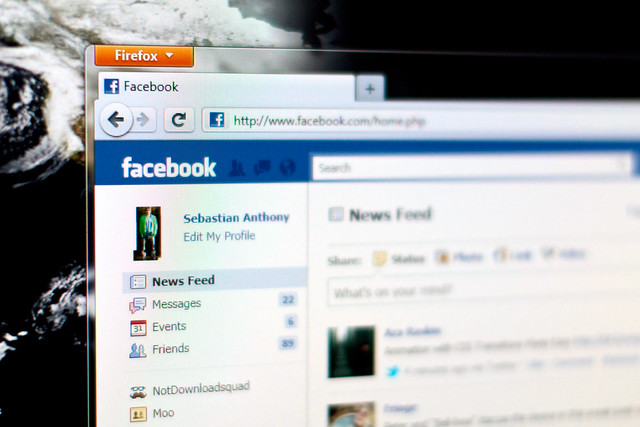 Facebook (LCD monitor)