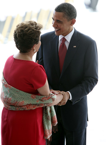 Presidente Barack Obama visita o Brasil / The U.S. President Barack Obama arrives in Brazil by Embaixada dos EUA - Brasil