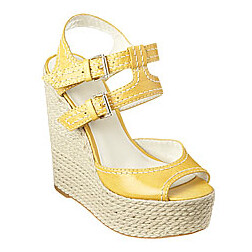 nine west shoes, sandals, yellow sandals, yellow espadrilles, shoes for spring and summer, Screen shot 2011-03-19 at 2.03.12 PM